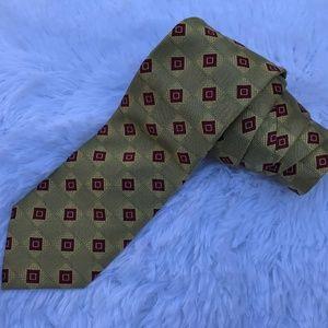 JoS.A.Bank Men Tie 100% Silk Neck Tie Dress Shirt